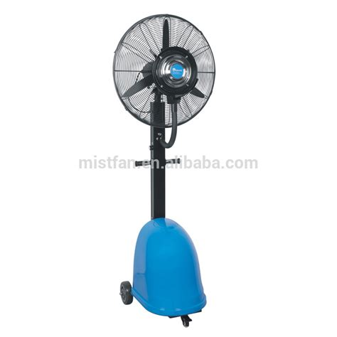 cool mist humidifier and ceiling fan debenz water spray fan humidifier fan with top quality