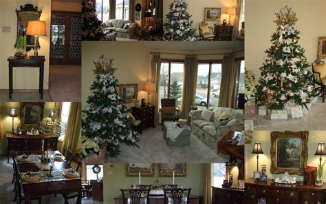 Luxury Homes Christmas Decorations Pictures