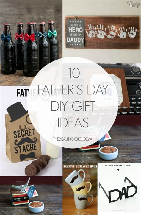 fathers day diy gifts 10 father s day diy gift ideas