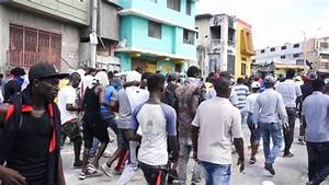 Haitian protesters call for President Jovenel Moïse's ...