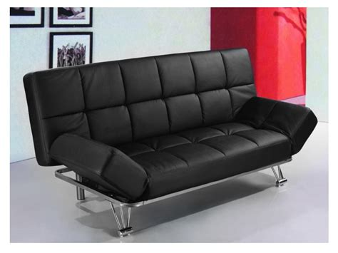 Canapé Clic-clac Design En Simili 3 Coloris