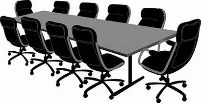 Vector Conference Table Clipart Conferencetable Office Board