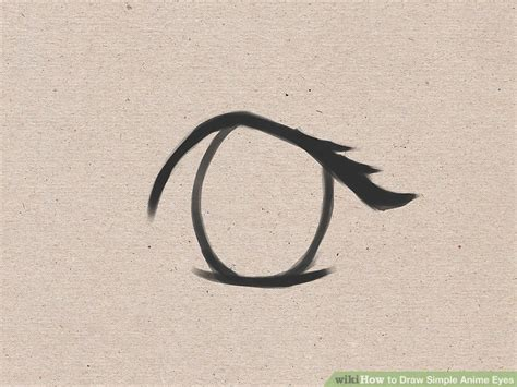 How To Draw Simple Anime Eyes