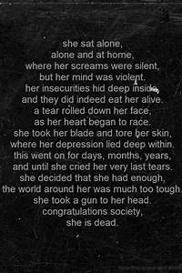 depression suicide self harm cutting poem hide-the-scars ...