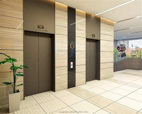 Contemporary Kitchen Design Ideas Tips - cemtex industrial building entrance lift lobby albedo design interior design singapore
