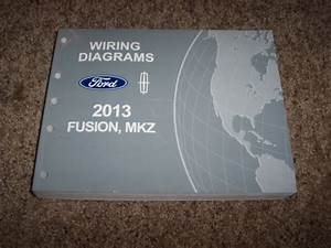 2013 Lincoln Mkz Electrical Wiring Diagram Manual 2 0l 3