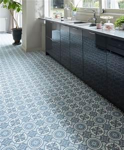 Dalle Vinyle Carreau De Ciment : carreaux de ciment 10 rev tements de sol imitation ~ Premium-room.com Idées de Décoration