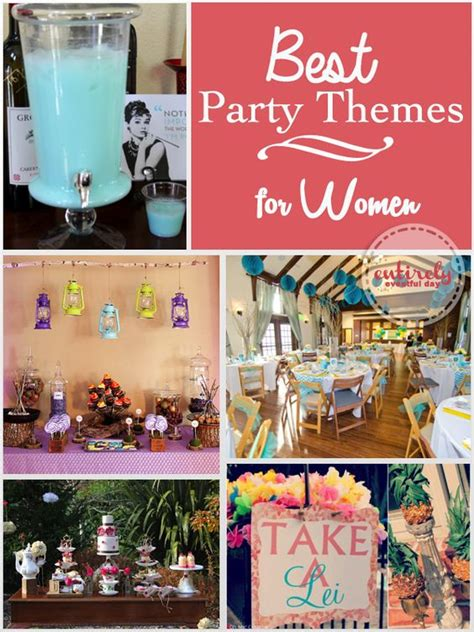 event ideas for adults lots of fabulous party ideas for women i love them all stepford wives vintage luau gling