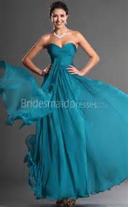 bridesmaid dresses turquoise a line turquoise chiffon sweetheart floor length with draping bridesmaid dresses ukbd03 544