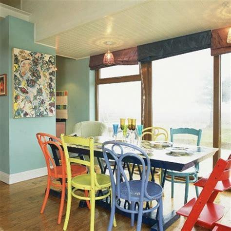 painting kitchen table and chairs different colors 37 ideen verschiedene stühle im esszimmer zu verwenden