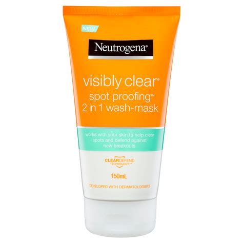 Visibly Clear Spot Proofing™ 2-in-1 Wash/ Mask