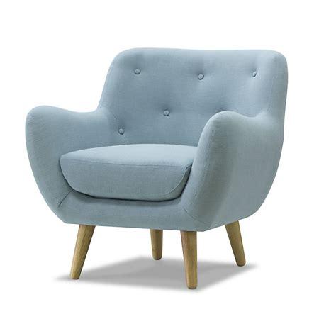fauteuil esprit seventies bleu ciel poppy meuble