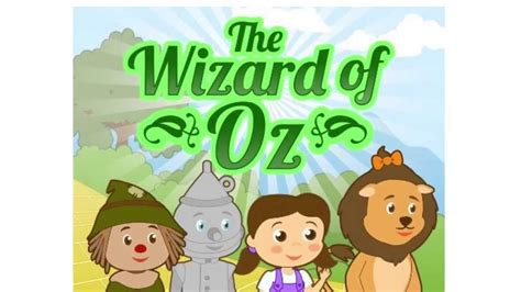 wizard of oz story picture book for kids free