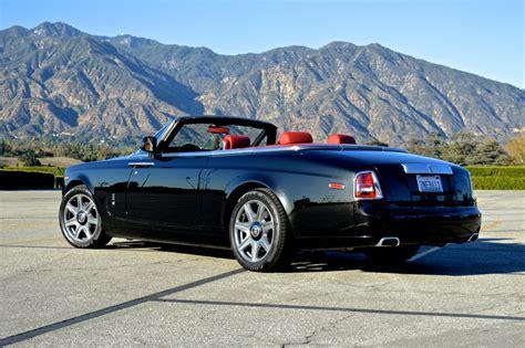 rolls royce  door convertible black red exotic cars
