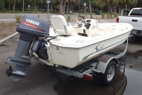 scout flats boat  sale ft fiberglass fishing boat