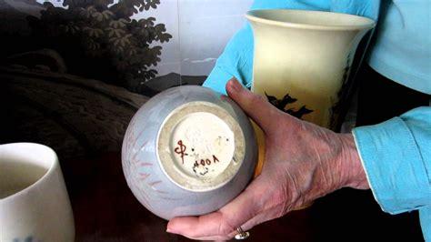 How to Identify Rookwood Pottery Marks [Kovels.com] - YouTube