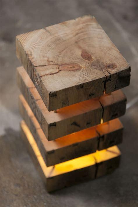 perfect mood lamp    timber wooden lamp