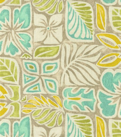 sun print fabric home decor print fabric tommy bahama sun blocks bleached sand jo ann