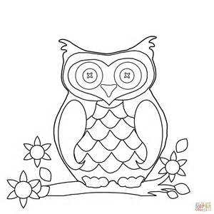 Pictures Of Owls To Color by Owl Coloring Page Free Printable Coloring Pages