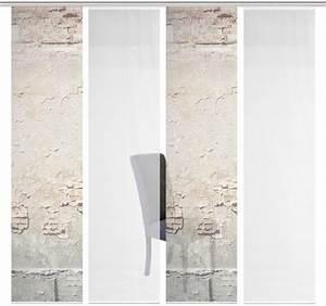 Schiebegardinen 4er Set : schiebegardine 4er set cliff vision s paneelwagen 4 st ck schiebevorhang 4er set ~ Watch28wear.com Haus und Dekorationen