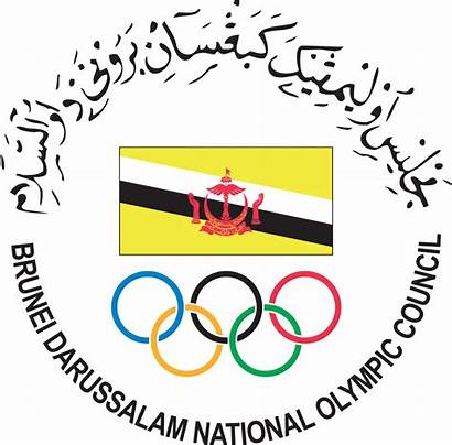 Brunei Darussalam Council Olympic National Wikipedia Svg