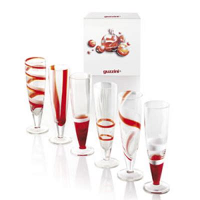 guzzini bicchieri bicchieri calice quot guzzini quot table cf 6 pz 286901