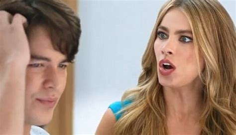 sofia vergara son commercial sofia vergara the blushing teen bride walks down the aisle