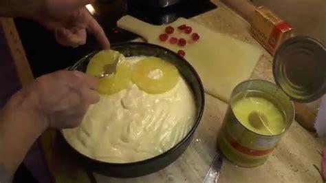 ananas schmand torte youtube