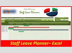 Leave Planner Staff Leave Planner Online PC Learning