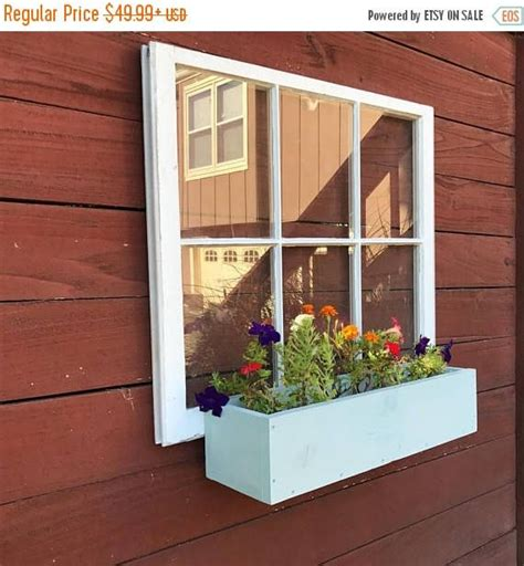 pane wood windows wood window flower box wood flower