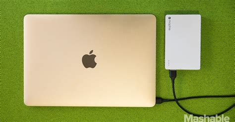 the new macbook s best kept secret charging from a portable battery pack
