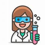 Scientist Icon Woman Svg Emoji Commons Wikimedia