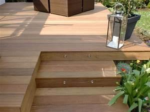 Balkon Holzboden Verlegen : aufgang holz terrasse pinterest terrasse terrasse holz und garten ~ Indierocktalk.com Haus und Dekorationen