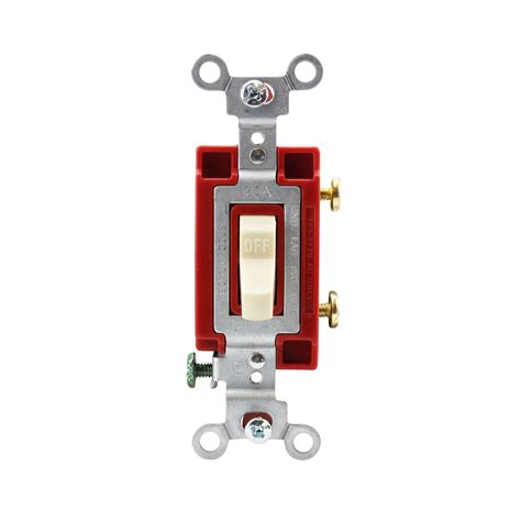 Hubbell Csi Single Pole Toggle Switch Side