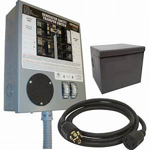Free Shipping  U2014 Generac Prewired Manual Transfer Switch