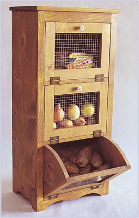 wood working projects woodworking plans potato  onion bin