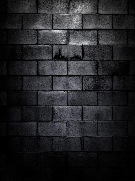 dark brick wall custom wallpaper