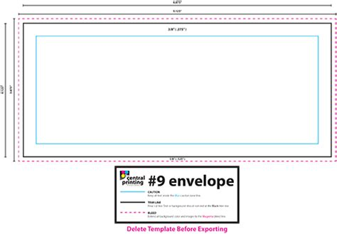 envelope address template business card and envelope templates central printing