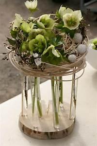 Composition Fleurs Séchées : compo avec hell bore corse d co florale pinterest ~ Teatrodelosmanantiales.com Idées de Décoration