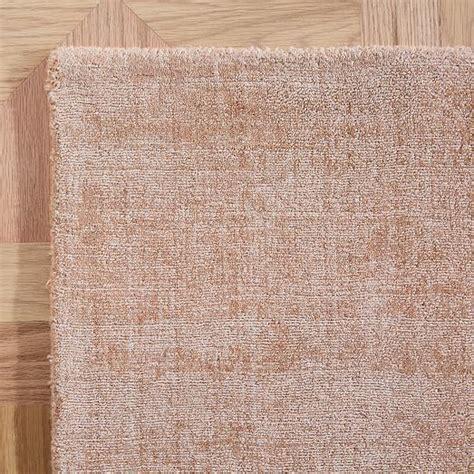 patina rug dusty blush west elm