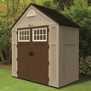suncast alpine 7 5x3 5 storage shed work shed
