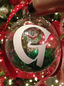 12, Days, Of, Christmas, Initial, Ornaments