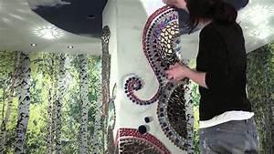Mosaik Selber Fliesen Auf Altem Tisch : mosaik s ule 3 zeitraffer youtube ~ Watch28wear.com Haus und Dekorationen