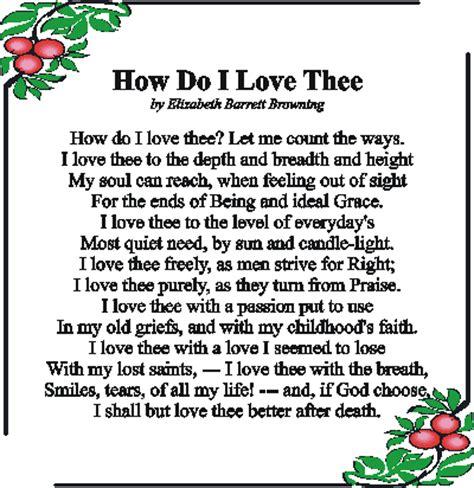 Analysis Of How Do I Love Thee By Elizabeth Barrett