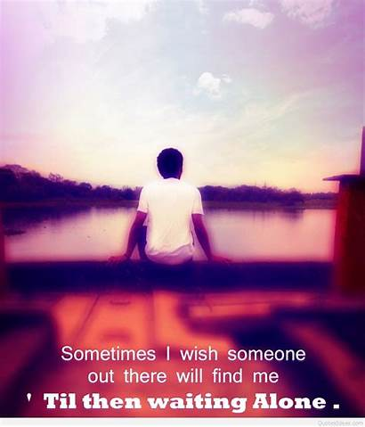 Sad Alone Boy Quotes Wallpapers Boys Mobile
