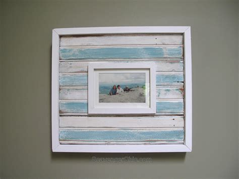 Vintage Style Beadboard Picture Frame  Scavenger Chic