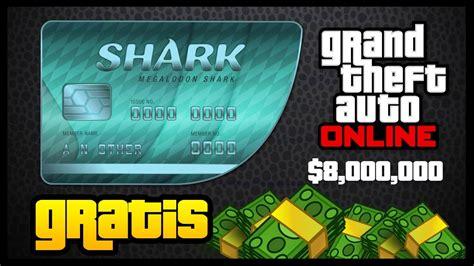 como conseguir tarjetas tiburon gratis en gta