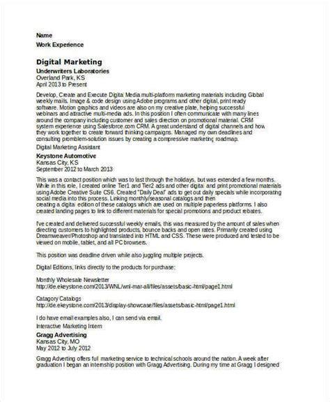 modern marketing resume templates
