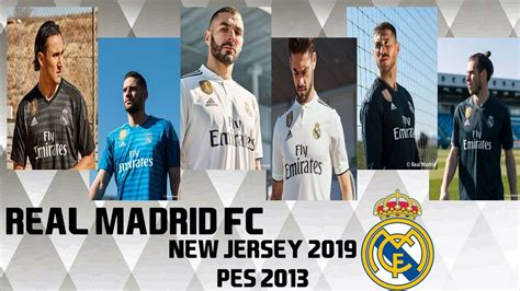 Pes 2018 is truly a fantastic game, but it can be even better. PES 2013 New Kit GDB Real Madrid FC 2018-2019 HD - YouTube