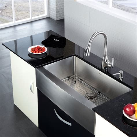 Stainless Apron Sink To A Deep Bowl ? The Homy Design